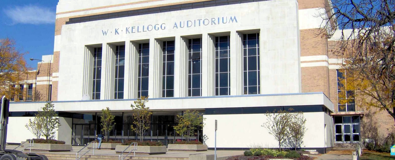 W K Kellogg Auditorium – by Robert Maihofer II
